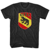 Bern Bear Crest T-shirt in Black by Ultras