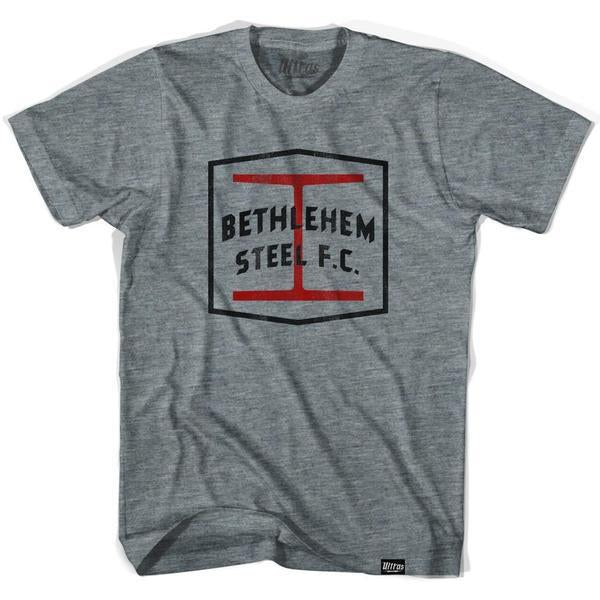 Bethlehem Steel FC T-shirt in Athletic Grey by Ultras