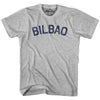 Bilbao City Vintage T-shirt in Grey Heather by Mile End Sportswear