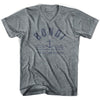 Bondi Anchor Life on the Strand V-neck T-shirt in Athletic Grey by Life On the Strand