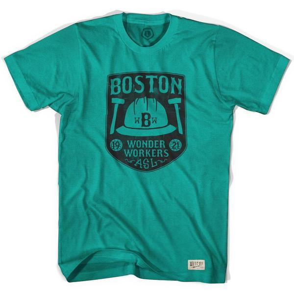 Boston Wonder Workers Soccer T-shirt in Evergreen by Ultras