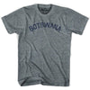 Botswana City Vintage T-shirt in Athletic Blue by Mile End Sportswear