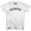 Burkina Faso City Vintage T-shirt in Grey Heather by Mile End Sportswear