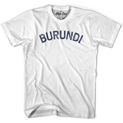Burundi City Vintage T-shirt in Grey Heather by Mile End Sportswear