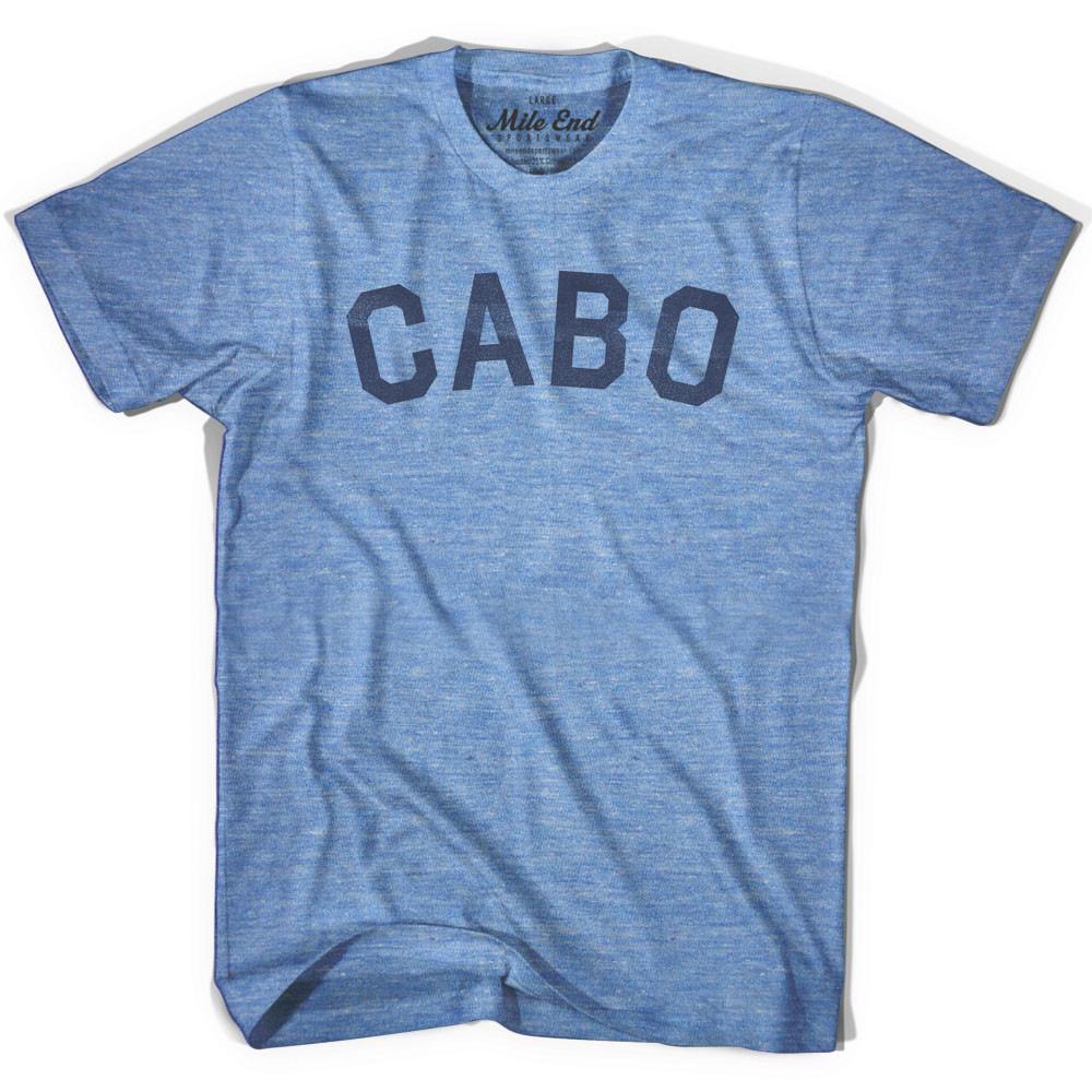 Cabo City Vintage T-shirt in Athletic Blue by Mile End Sportswear