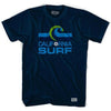 California Surf Soccer Crest T-shirt in Navy by Ultras