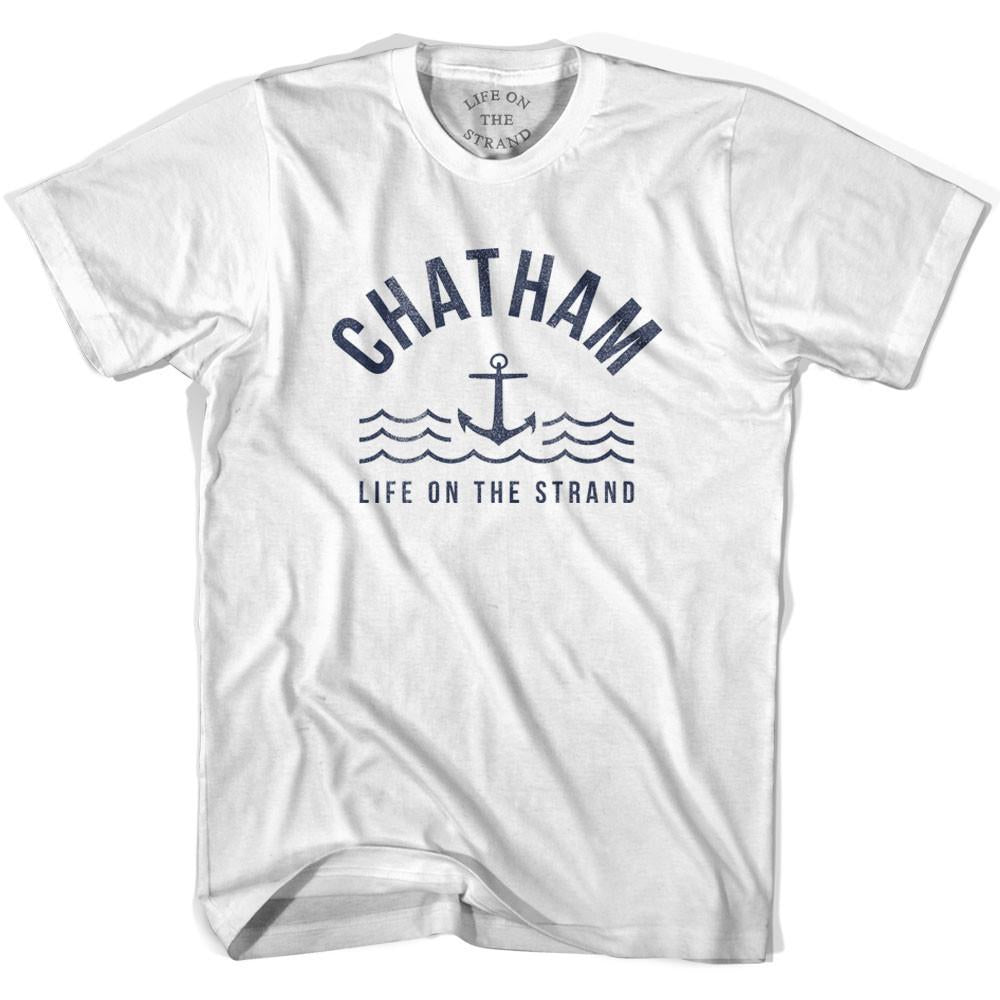 Chatham Anchor Life on the Strand T-shirt in White by Life On the Strand