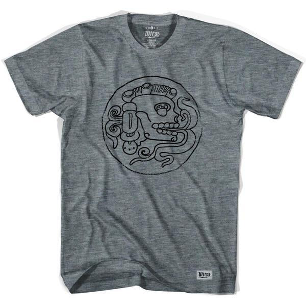 Chichen Itza Warrior T-shirt in Athletic Grey by Ultras