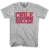 Chile Soccer Nations World Cup T-shirt in White by Neutral FC