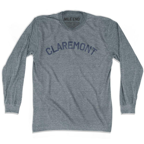 Claremont Vintage City T-shirt Long Sleeve