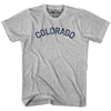 Colorado Union Vintage T-shirt in Grey Heather by Mile End Sportswear