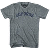 Comoros City Vintage T-shirt in Athletic Blue by Mile End Sportswear