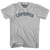 Comoros City Vintage T-shirt in Grey Heather by Mile End Sportswear
