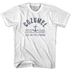 Cozumel Anchor Life on the Strand T-shirt in White by Life On the Strand