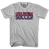 Czech Republic Soccer Nations World Cup T-shirt in White by Neutral FC
