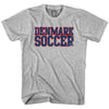 Denmark Soccer Nations World Cup T-shirt in White by Neutral FC