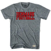 Denmark Football Soccer T-shirt in Athletic Grey by Ultras