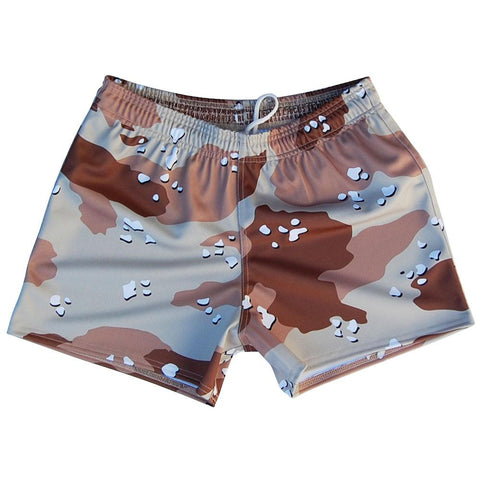 Desert Storm Army Camo Rugby Union Shorts