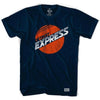 Detroit Express T-shirt in Navy by Ultras