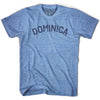 Dominica City Vintage T-shirt in Athletic Blue by Mile End Sportswear
