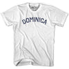 Dominica City Vintage T-shirt in Grey Heather by Mile End Sportswear