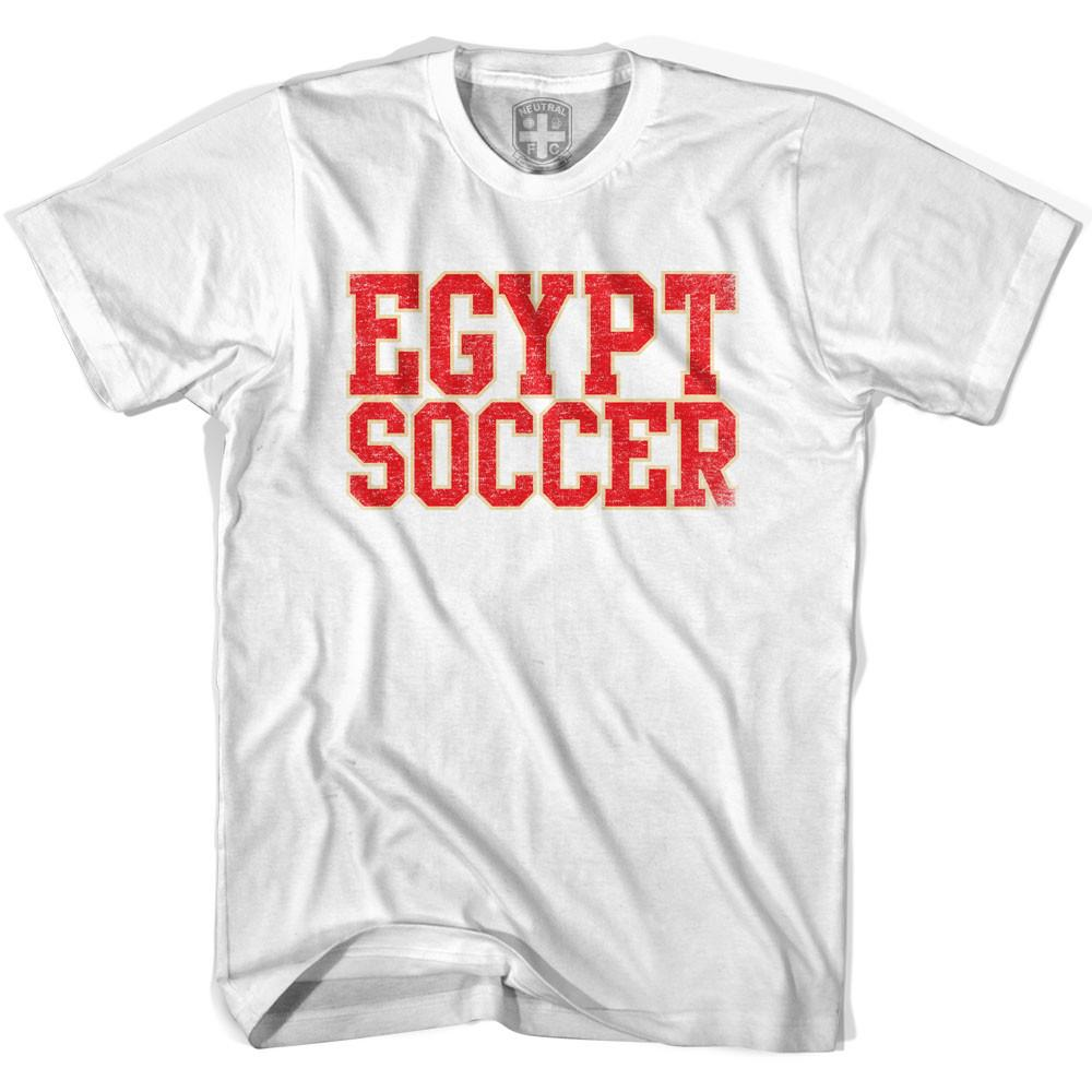 Egypt Soccer Nations World Cup T-shirt in White by Neutral FC
