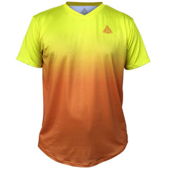 Endless GSM Tennis Shirt in Yellow-Orange by GSM Tennis T-shirts