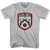 Fall River Marksmen Soccer Crest T-shirt in White by Neutral FC