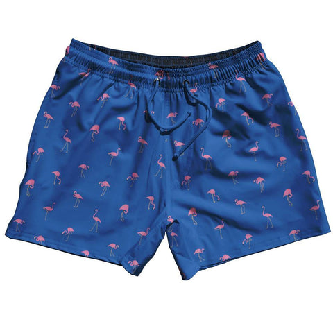 Flamingos Swim Shorts 5""