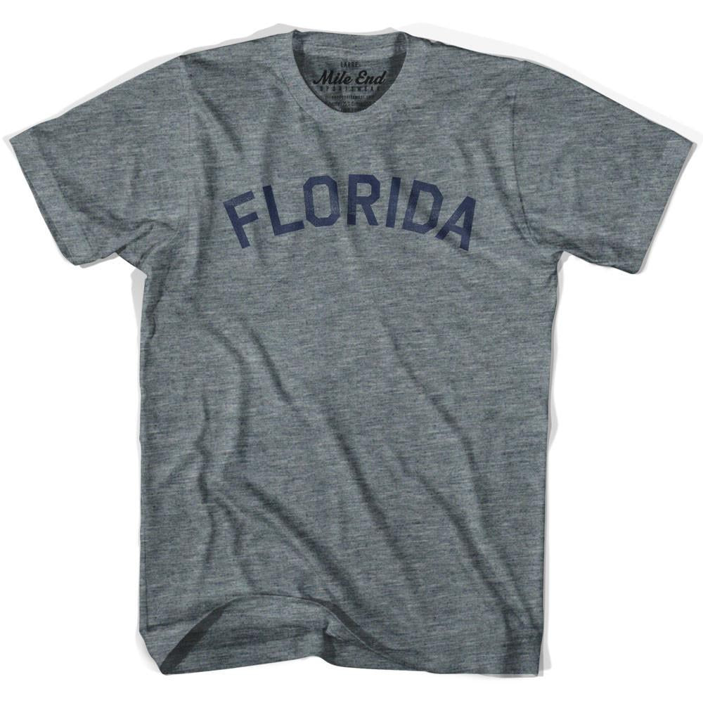 Florida Union Vintage T-shirt in Athletic Blue by Mile End Sportswear