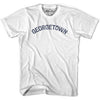 Georgetown City Vintage T-shirt in Grey Heather by Mile End Sportswear