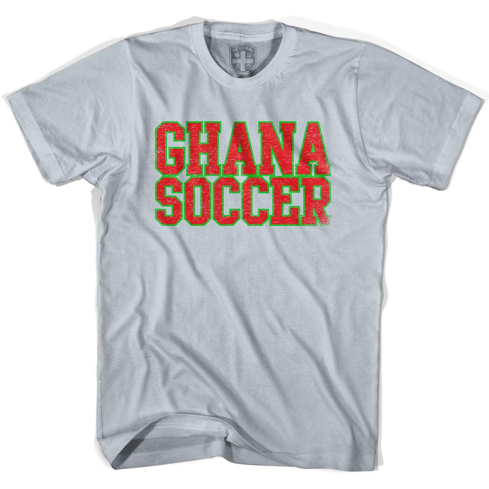 Ghana Soccer Nations World Cup T-shirt in White by Neutral FC