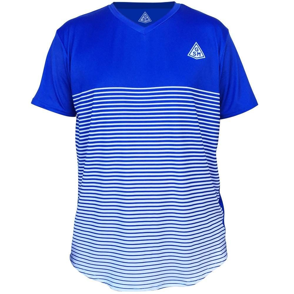 GSM Rise Tennis Shirt in Royal by GSM Tennis T-shirts