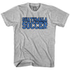 Guatemala Soccer Nations World Cup T-shirt in White by Neutral FC