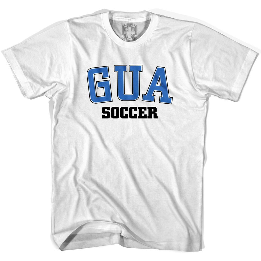 Guatemala GUA Soccer Country Code T-shirt in White by Neutral FC