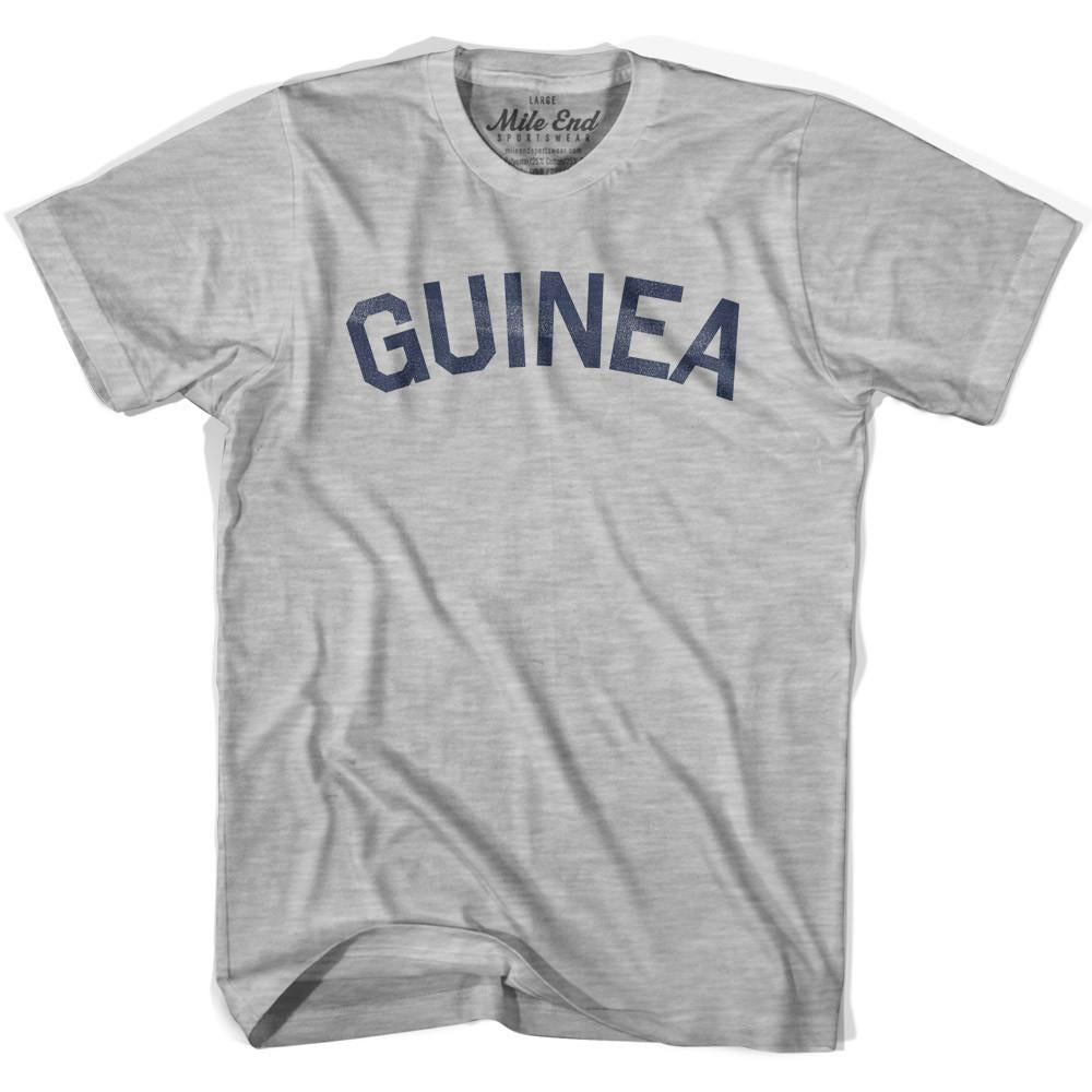 Guinea City Vintage T-shirt in Grey Heather by Mile End Sportswear