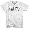 Haiti City Vintage T-shirt in Grey Heather by Mile End Sportswear