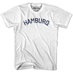 Hamburg City Vintage T-shirt in Grey Heather by Mile End Sportswear