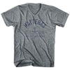 Hatteras Anchor Life on the Strand V-neck T-shirt in Athletic Grey by Life On the Strand