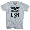 Made in Hawaii Vintage Eagle T-shirt in White by Mile End Sportswear