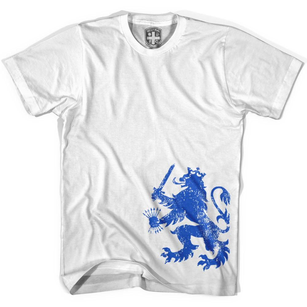 Holland Delft Lion T-shirt in White by Neutral FC