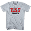 Hong Kong HKG Soccer Country Code T-shirt in White by Neutral FC