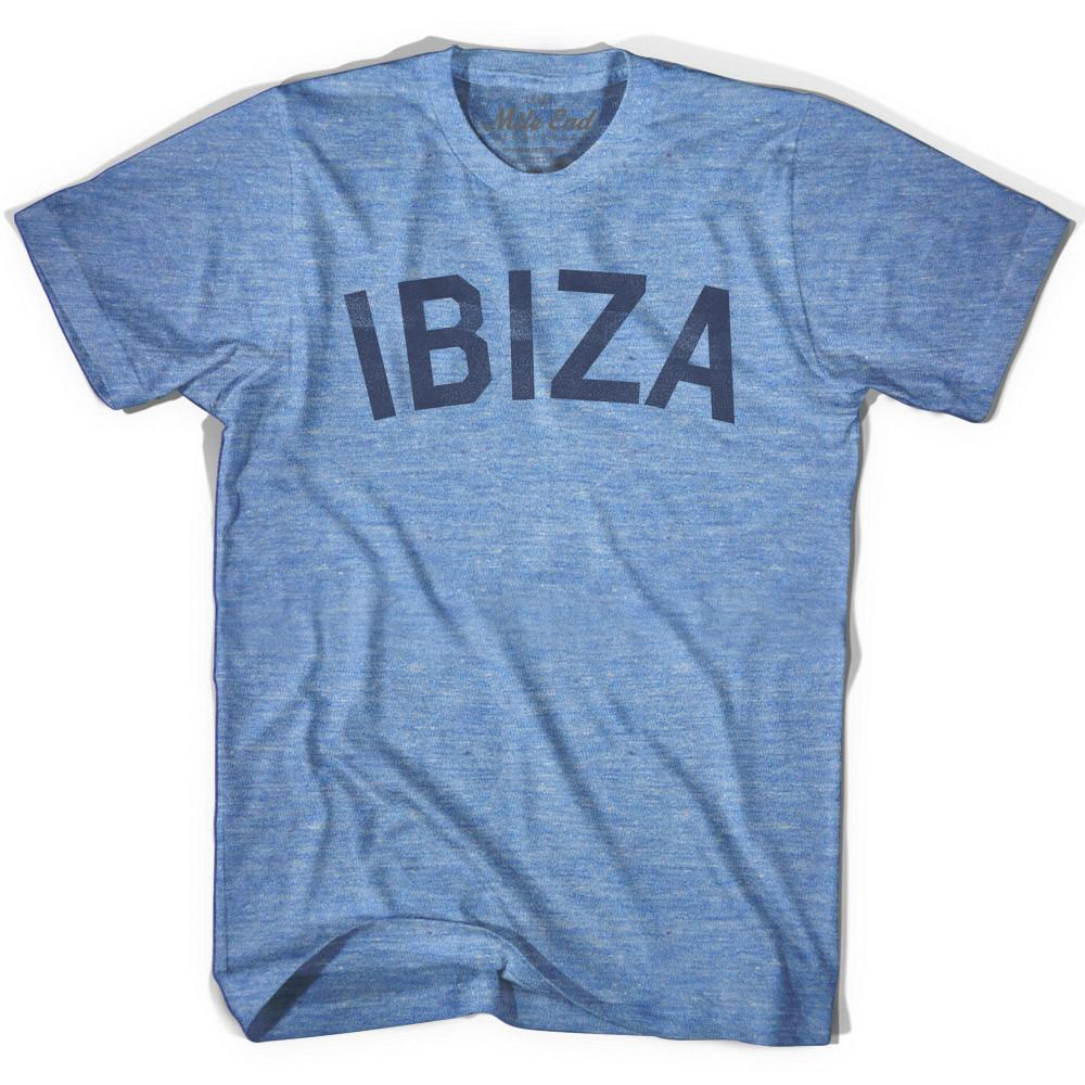 Ibiza City Vintage T-shirt in Athletic Blue by Mile End Sportswear