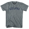 Iceland City Vintage T-shirt in Athletic Grey by Mile End Sportswear