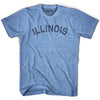 Illinois Union Vintage T-shirt in Athletic Blue by Mile End Sportswear