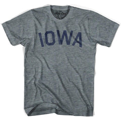 Iowa Union Vintage T-shirt in Athletic Blue by Mile End Sportswear