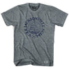Jacksonville Tea Men Vintage Soccer T-shirt in Athletic Blue by Ultras