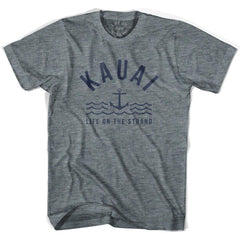 Kauai Anchor Life on the Strand T-shirt in Athletic Grey by Life On the Strand