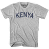Kenya City Vintage T-shirt in Grey Heather by Mile End Sportswear