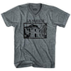 UltrasBarcelona La Masia V-neck T-shirt in Athletic Grey by Ultras
